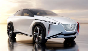 Nissan IMx Concept: Leaf in SUV-jas